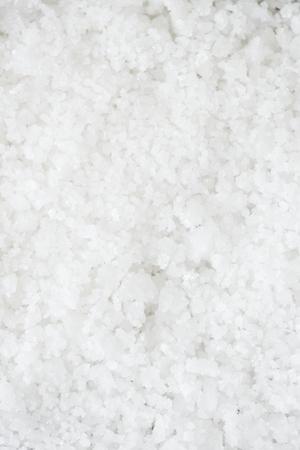 Close-up van zoute textuur