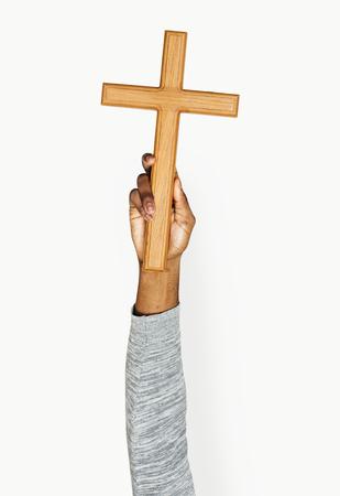 Hand holding variation of object Stok Fotoğraf