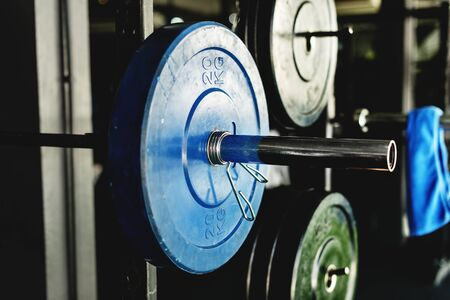 Fitness equipment Reklamní fotografie
