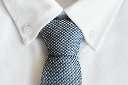 Closeup of necktie Banco de Imagens
