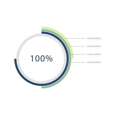 Elements of infographic Stock fotó - 95598261
