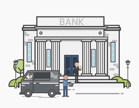 Bank security concept