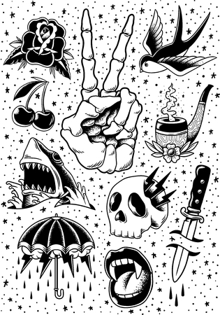 Comic style vector Stockfoto - 95111766