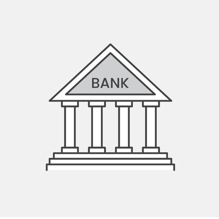 Illustration of bank icon