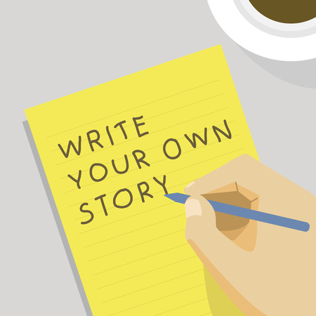 Write your own story illustration