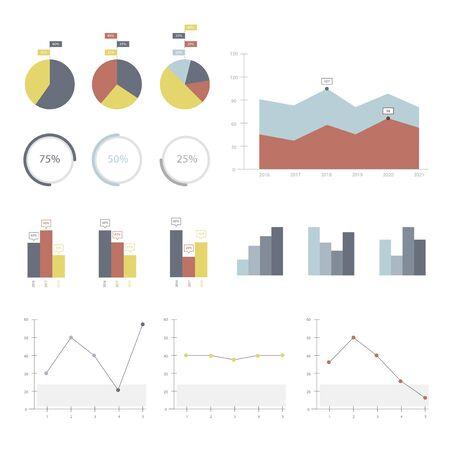 Définir des éléments de infographiques Banque d'images - 95112660