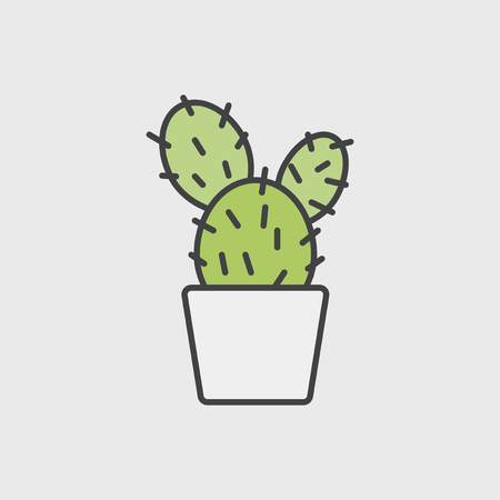 Illustration of house plants