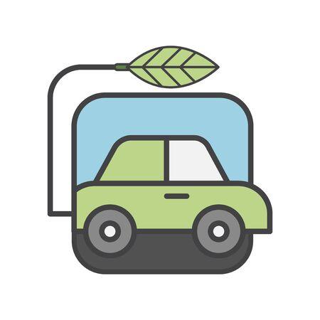 Illustration set of environmental