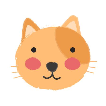 Illustration d'un chat Banque d'images