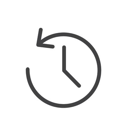 Reversing time concept Stok Fotoğraf