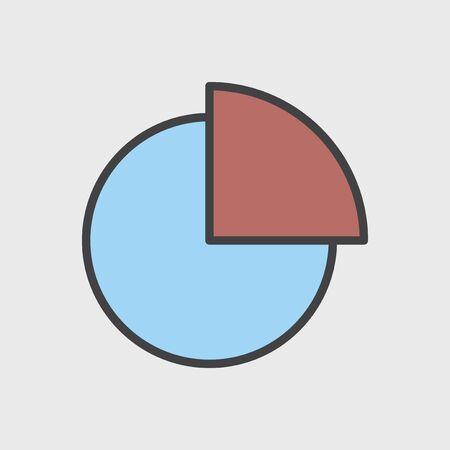 Illustration of data analysis graph Stock Illustration - 95112766