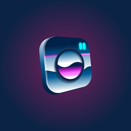 Artwork Social Logo Illustration Concept Reklamní fotografie - 95597938