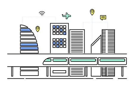 Illustration of Eco friendly