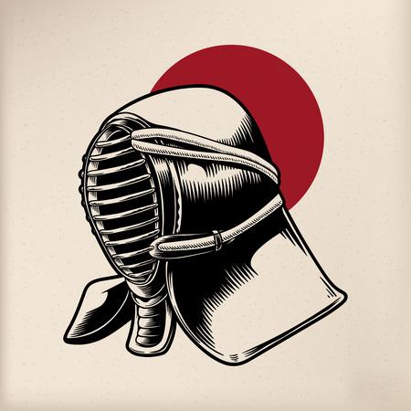 Japanese tradition style Illustration Stockfoto - 95597026