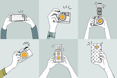 Cameras concept