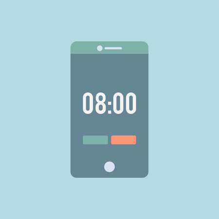 Timer on a smartphone