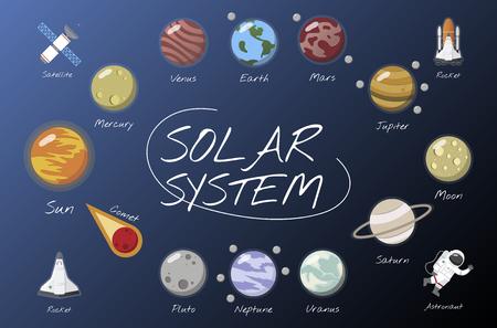 Il sistema solare Archivio Fotografico - 95596200