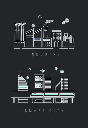 Industrial and smart city