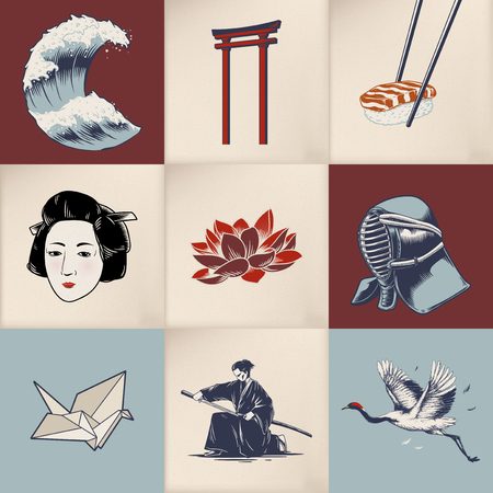 Japanese theme concept