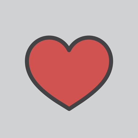 Heart shape icon 스톡 콘텐츠