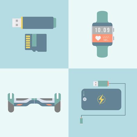 Digital devices concept