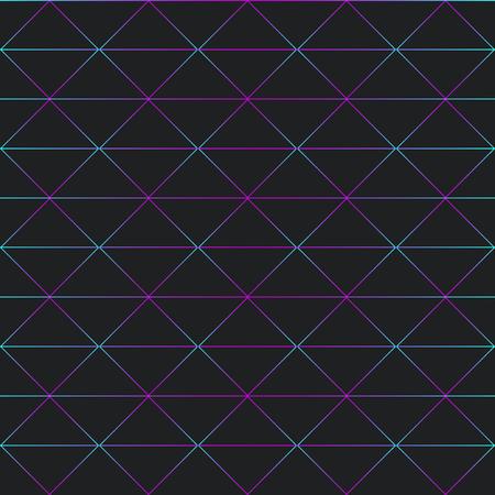 Patrones sin fisuras de varias líneas y zigzags Foto de archivo - 95595500