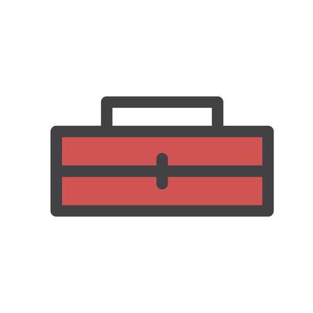 Illustration of tools box icon