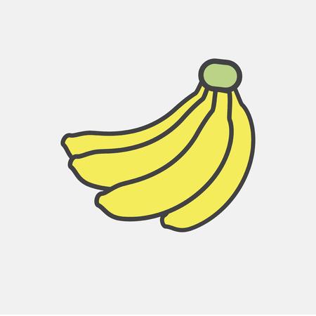 Illustration of fruit icon Фото со стока - 95595508