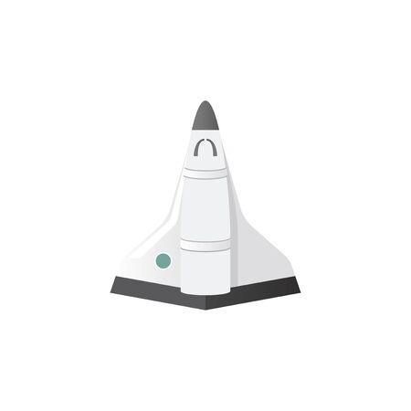 Illustration of spaceship
