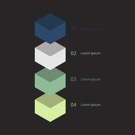 Progress chart concept Stock fotó