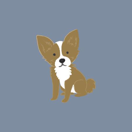 Illustration d'un chien Banque d'images