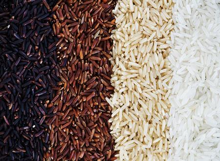 Closeup of mixed rice 스톡 콘텐츠