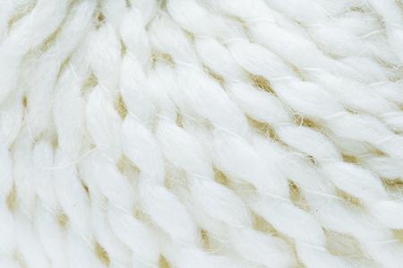 White fabric closeup Archivio Fotografico - 95182411