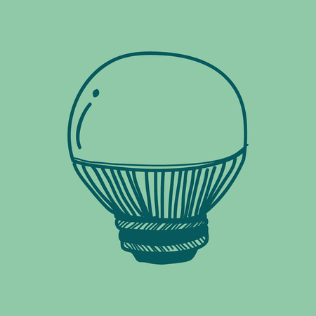 Illustration of a light bulb