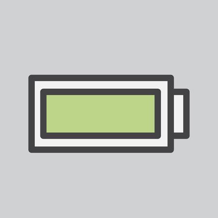 Battery level indicator icon