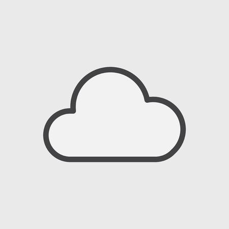 Illustration du stockage cloud Banque d'images - 95972069
