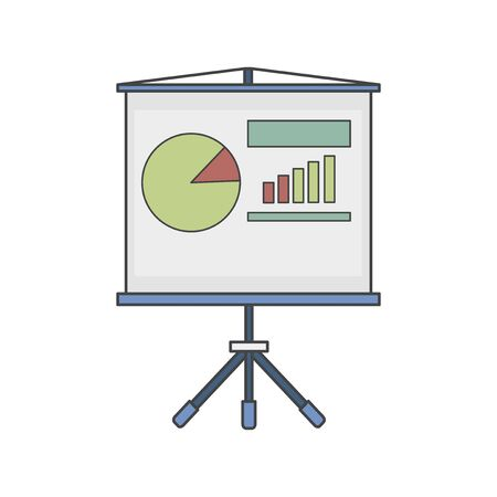Illustration of data analysis graph Archivio Fotografico - 95972072