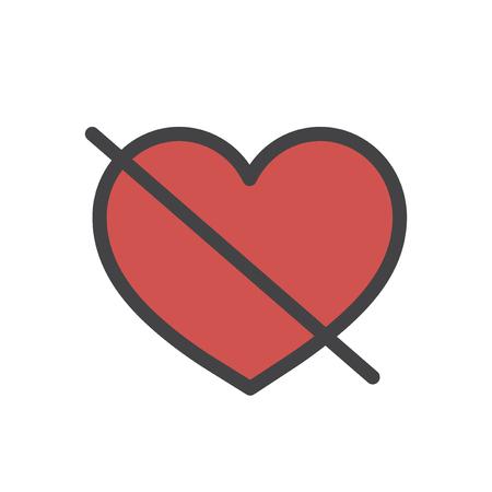 Heart shape icon Imagens