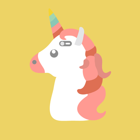 Illustration of a unicorn concept Stock Photo