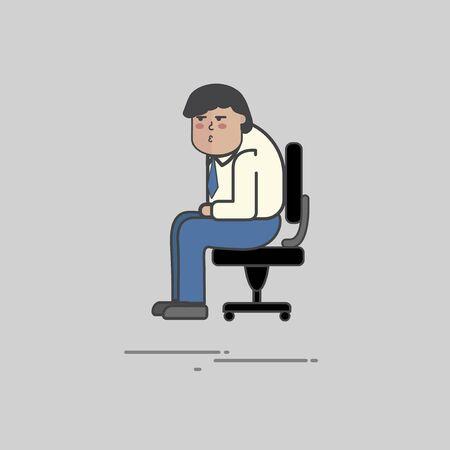 Illustration of people avatar Stock fotó