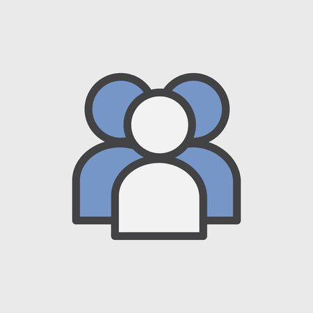 Illustration of user avatar icon Foto de archivo - 95980231
