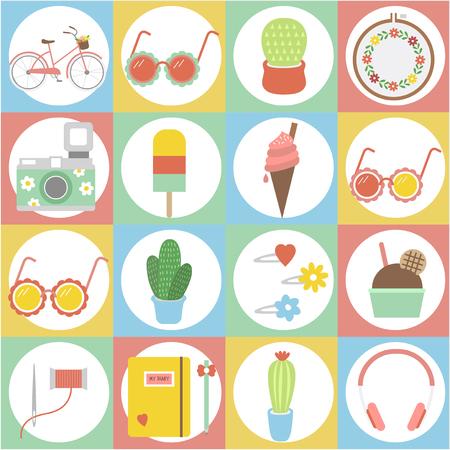 Summer theme concept