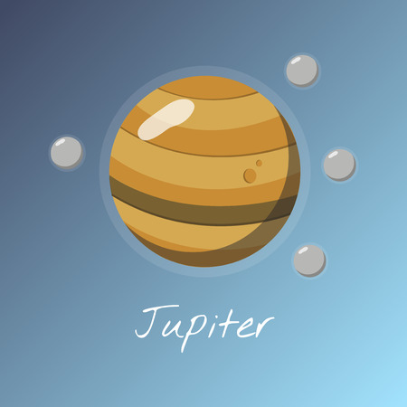 Planet Jupiter concept Stock Photo