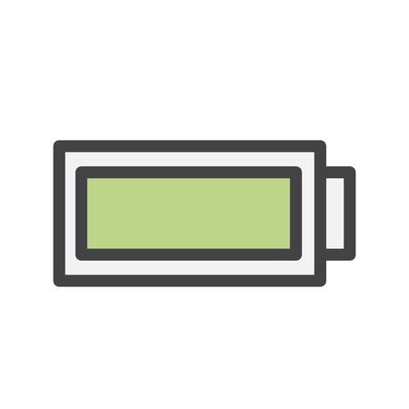 Battery charging icon Stok Fotoğraf - 115907400