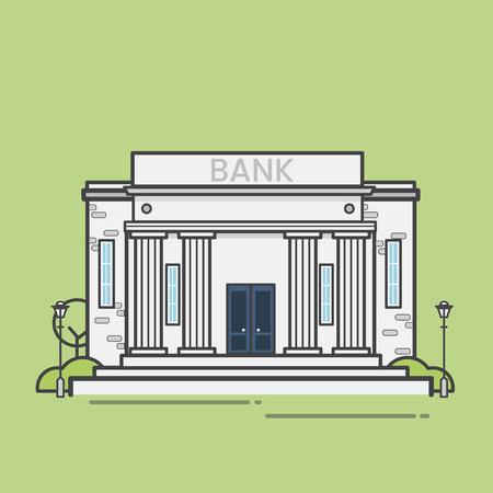 Bank building concept