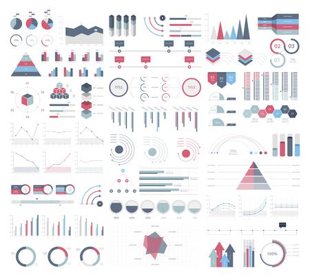 Set elements of infographic Фото со стока