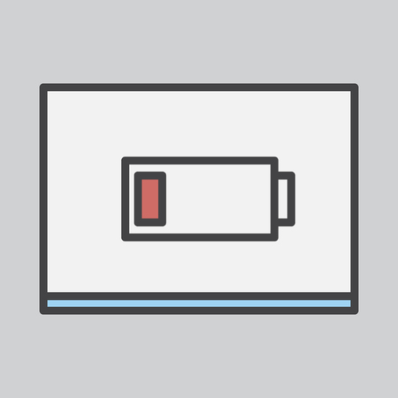 Battery indication icon
