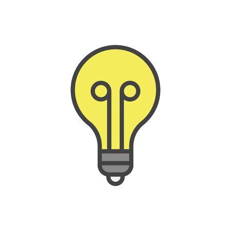 Illustration der Glühlampe Standard-Bild - 96936132