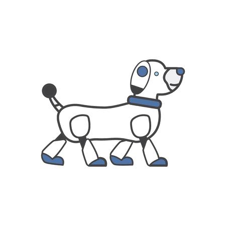 Pet robot dog Imagens