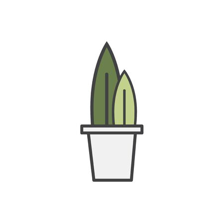 Illustration of plant  Stock Photo